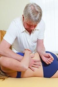 Demo chiripraktische Behandlung
